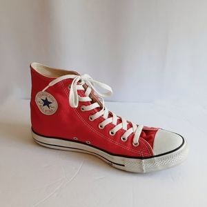 Converse Red Chuck Taylor Hi Tops Size 11